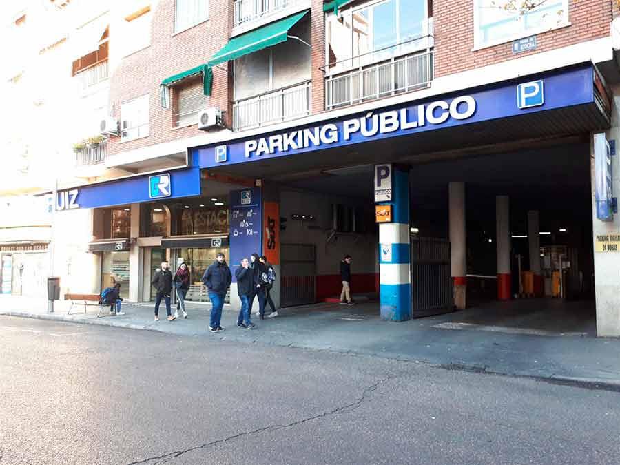 Parking publico Atocha